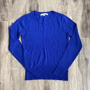 Women's cobalt cozy sweater